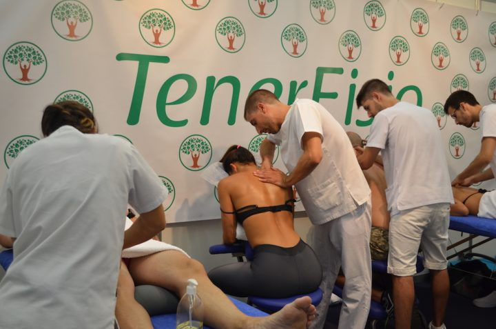 Thanks for coming to Tenerfisio in ExpoDeporte Tenerife 2017