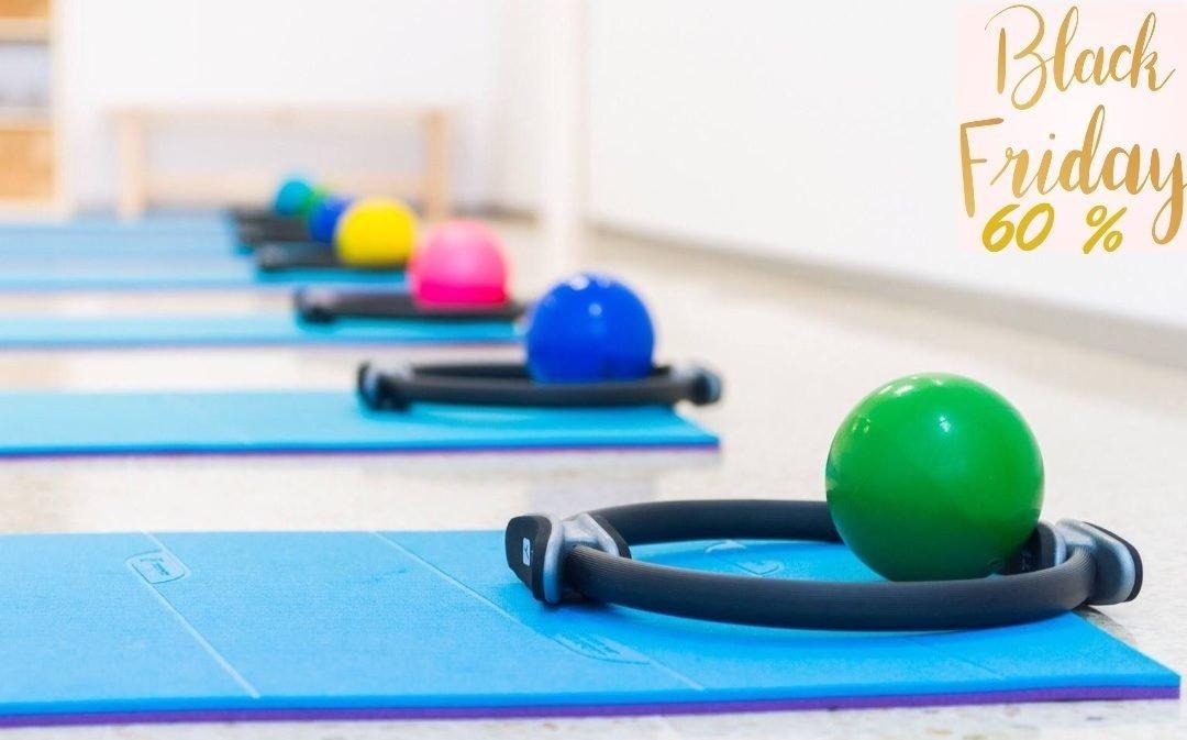 Black Friday en Tenerfisio! 60% de descuento en Pilates